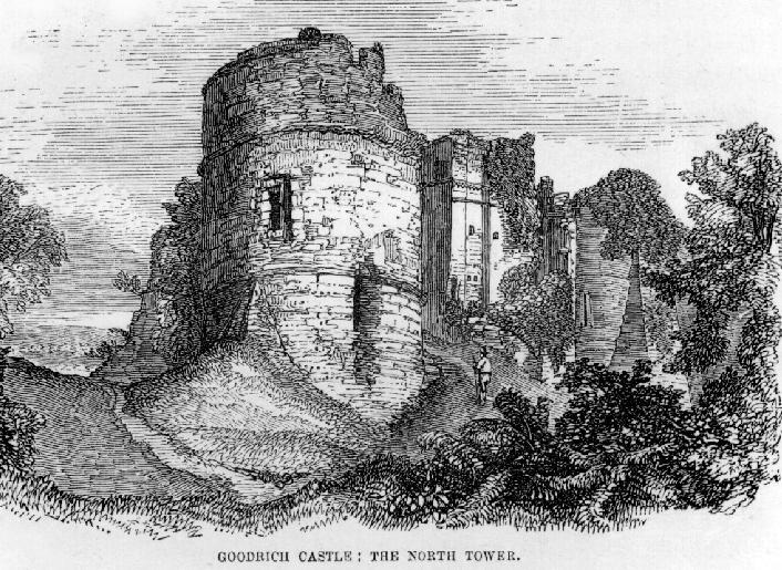 The Castles of Wales in Art: Goodrich Castle