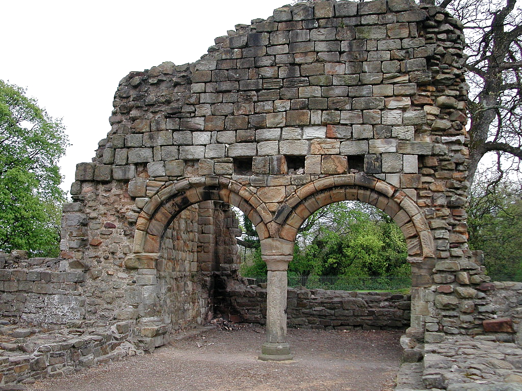 Arcading Is A Row Of Arches Supported On Columns Either Free Standing Or Attached To Wall Blind Arcade Basingwerk Abbey In Northeast Wales Below