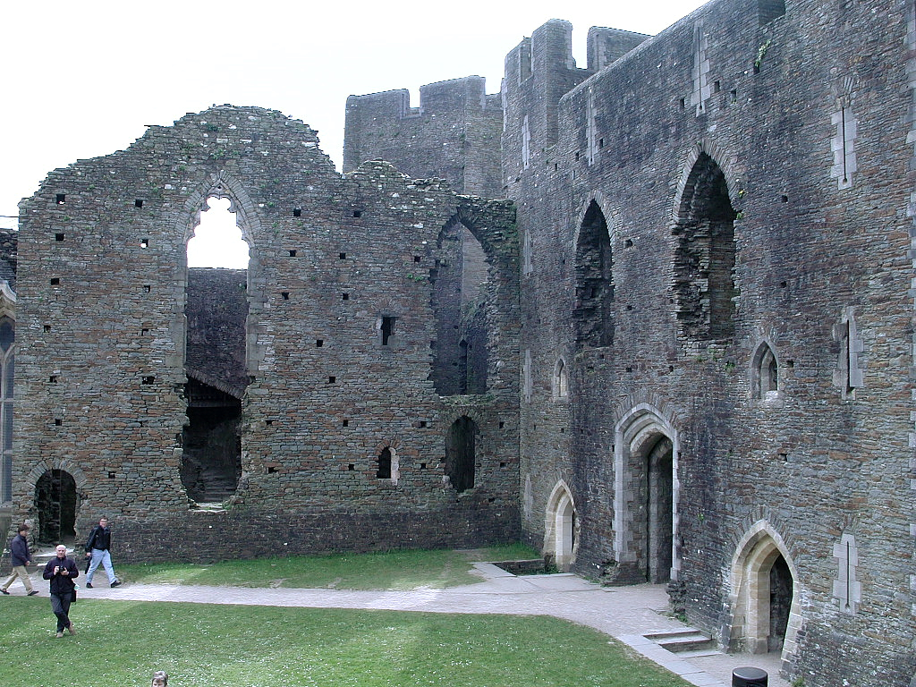 the great hall in a medieval castle
