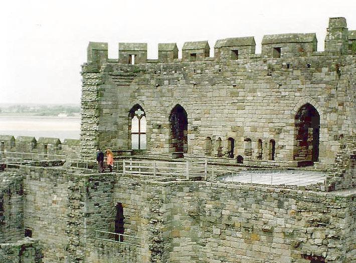 Caernarfon castle gatehouse