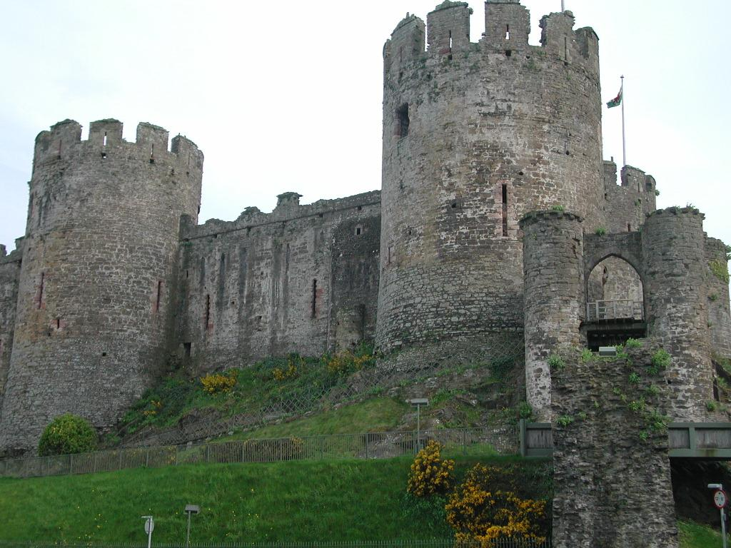 Conwy castle for Small chateau